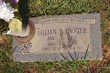 HUNTER, LILLIAN B - Webster County, Louisiana | LILLIAN B HUNTER - Louisiana Gravestone Photos