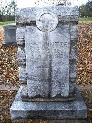HUNTER, WILLIAM S - Webster County, Louisiana   WILLIAM S HUNTER - Louisiana Gravestone Photos
