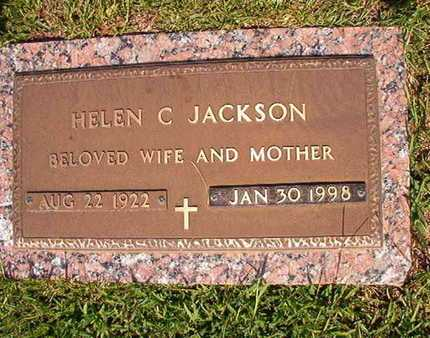 JACKSON, HELEN C - Webster County, Louisiana | HELEN C JACKSON - Louisiana Gravestone Photos