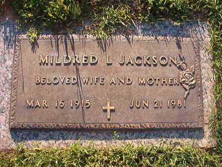 JACKSON, MILDRED L - Webster County, Louisiana | MILDRED L JACKSON - Louisiana Gravestone Photos