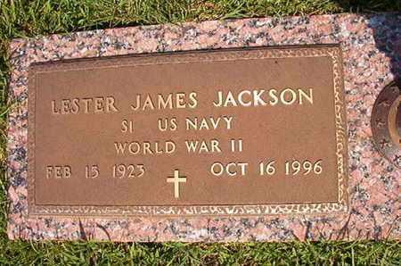 JACKSON, LESTER JAMES (VETERAN WWII) - Webster County, Louisiana | LESTER JAMES (VETERAN WWII) JACKSON - Louisiana Gravestone Photos