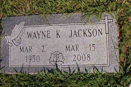 JACKSON, WAYNE K - Webster County, Louisiana   WAYNE K JACKSON - Louisiana Gravestone Photos