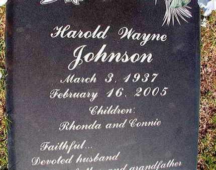JOHNSON, HAROLD WAYNE - Webster County, Louisiana | HAROLD WAYNE JOHNSON - Louisiana Gravestone Photos