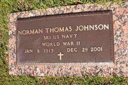 JOHNSON, NORMAN THOMAS (VETERAN WWII) - Webster County, Louisiana | NORMAN THOMAS (VETERAN WWII) JOHNSON - Louisiana Gravestone Photos
