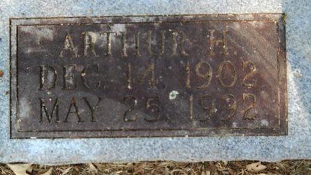 JONES, ARTHUR H (CLOSE UP) - Webster County, Louisiana | ARTHUR H (CLOSE UP) JONES - Louisiana Gravestone Photos