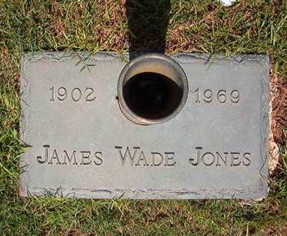 JONES, JAMES WADE - Webster County, Louisiana | JAMES WADE JONES - Louisiana Gravestone Photos