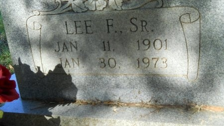 JONES, LEE FULTON, SR (CLOSE UP) - Webster County, Louisiana   LEE FULTON, SR (CLOSE UP) JONES - Louisiana Gravestone Photos