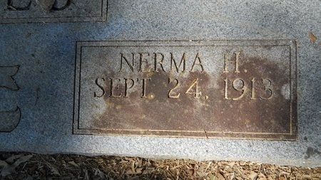 JONES, NERMA (CLOSE UP) - Webster County, Louisiana | NERMA (CLOSE UP) JONES - Louisiana Gravestone Photos