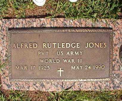 JONES, ALFRED RITLEDGE (VETERAN WWII) - Webster County, Louisiana | ALFRED RITLEDGE (VETERAN WWII) JONES - Louisiana Gravestone Photos