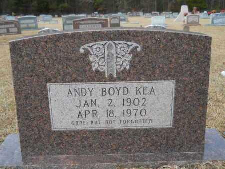 KEA, ANDY BOYD - Webster County, Louisiana | ANDY BOYD KEA - Louisiana Gravestone Photos