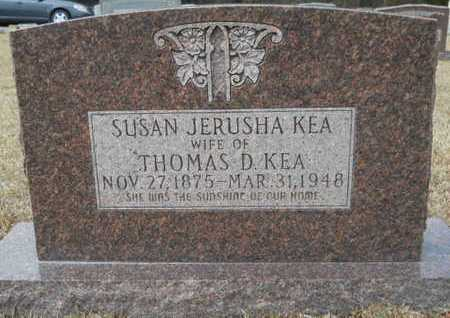 KEA, SUSAN JERUSHA - Webster County, Louisiana | SUSAN JERUSHA KEA - Louisiana Gravestone Photos