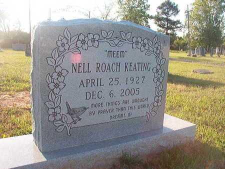 KEATING, NELL - Webster County, Louisiana | NELL KEATING - Louisiana Gravestone Photos