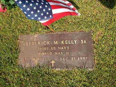 KELLY, FREDERICK M , SR (VETERAN WWII) - Webster County, Louisiana   FREDERICK M , SR (VETERAN WWII) KELLY - Louisiana Gravestone Photos