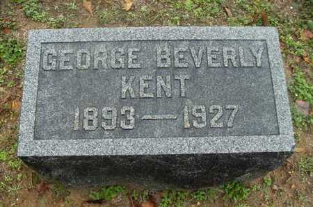 KENT, GEORGE BEVERLY - Webster County, Louisiana | GEORGE BEVERLY KENT - Louisiana Gravestone Photos