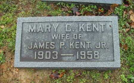 KENT, MARY C - Webster County, Louisiana | MARY C KENT - Louisiana Gravestone Photos
