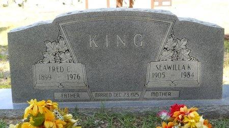 KING, SEAWILLA K - Webster County, Louisiana | SEAWILLA K KING - Louisiana Gravestone Photos