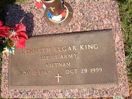 KING, KENNETH ELGAR (VETERAN VIET) - Webster County, Louisiana | KENNETH ELGAR (VETERAN VIET) KING - Louisiana Gravestone Photos