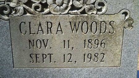 WOODS LAFITTE, CLARA (CLOSE UP) - Webster County, Louisiana | CLARA (CLOSE UP) WOODS LAFITTE - Louisiana Gravestone Photos