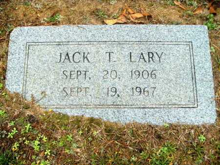 "LARY, JULIUS THELTON ""JACK"" - Webster County, Louisiana 