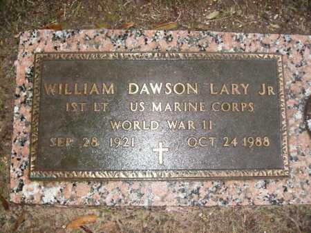 LARY, WILLIAM DAWSON , JR VETERAN WWII) - Webster County, Louisiana | WILLIAM DAWSON , JR VETERAN WWII) LARY - Louisiana Gravestone Photos