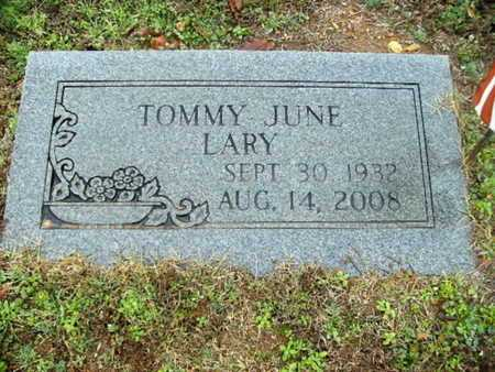 LARY, TOMMY JUNE - Webster County, Louisiana | TOMMY JUNE LARY - Louisiana Gravestone Photos