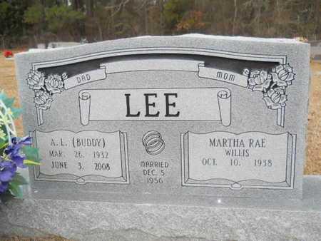 "LEE, A L ""BUDDY"" - Webster County, Louisiana | A L ""BUDDY"" LEE - Louisiana Gravestone Photos"