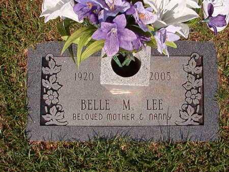 LEE, BELLE M - Webster County, Louisiana | BELLE M LEE - Louisiana Gravestone Photos