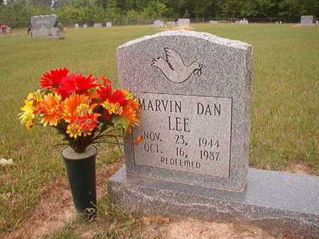 LEE, MARVIN DAN - Webster County, Louisiana | MARVIN DAN LEE - Louisiana Gravestone Photos