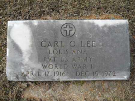 LEE, CARL O (VETERAN WWII) - Webster County, Louisiana   CARL O (VETERAN WWII) LEE - Louisiana Gravestone Photos