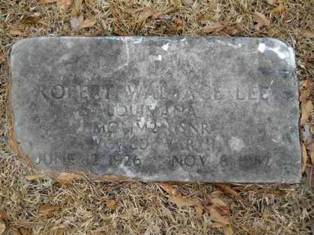 LEE, ROBERT WALLACE (VETERAN WWII) - Webster County, Louisiana | ROBERT WALLACE (VETERAN WWII) LEE - Louisiana Gravestone Photos