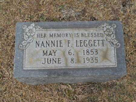 "LEGGETT, NANCY ""NANNIE"" - Webster County, Louisiana 