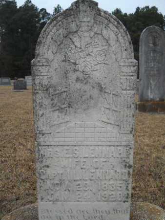 LENNARD, ELIZABETH SARAH - Webster County, Louisiana | ELIZABETH SARAH LENNARD - Louisiana Gravestone Photos