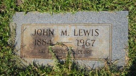 LEWIS, JOHN M - Webster County, Louisiana   JOHN M LEWIS - Louisiana Gravestone Photos