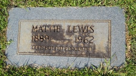 LEWIS, MATTIE - Webster County, Louisiana | MATTIE LEWIS - Louisiana Gravestone Photos