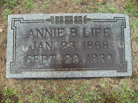 LIFE, ANNA B - Webster County, Louisiana | ANNA B LIFE - Louisiana Gravestone Photos