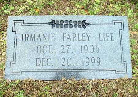 LIFE, IRMANIE - Webster County, Louisiana | IRMANIE LIFE - Louisiana Gravestone Photos