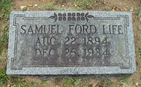 LIFE, SAMUEL FORD - Webster County, Louisiana   SAMUEL FORD LIFE - Louisiana Gravestone Photos