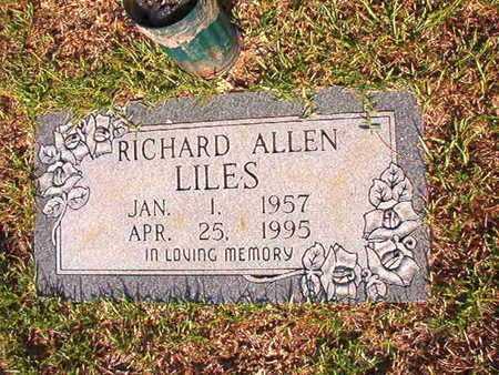LILES, RICHARD ALLEN - Webster County, Louisiana | RICHARD ALLEN LILES - Louisiana Gravestone Photos
