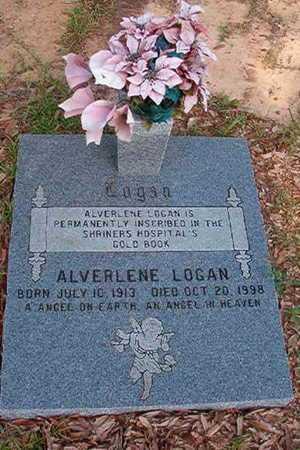 LOGAN, ALVERLENE - Webster County, Louisiana | ALVERLENE LOGAN - Louisiana Gravestone Photos