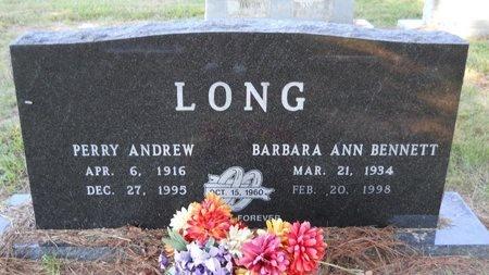 BENNETT LONG, BARBARA ANN - Webster County, Louisiana | BARBARA ANN BENNETT LONG - Louisiana Gravestone Photos