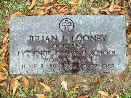 LOONEY, JULIAN L (VETERAN WWI) - Webster County, Louisiana | JULIAN L (VETERAN WWI) LOONEY - Louisiana Gravestone Photos