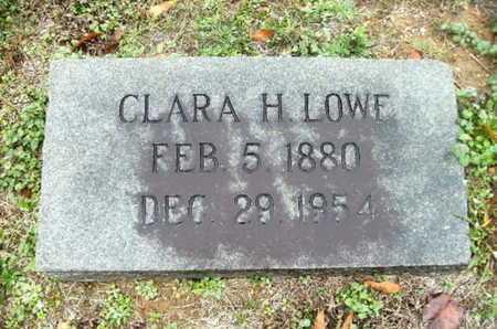 LOWE, CLARA H - Webster County, Louisiana | CLARA H LOWE - Louisiana Gravestone Photos