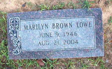 LOWE, MARILYN - Webster County, Louisiana | MARILYN LOWE - Louisiana Gravestone Photos