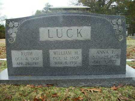 LUCK, WILLIAM H - Webster County, Louisiana | WILLIAM H LUCK - Louisiana Gravestone Photos