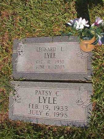 LYLE, PATSY C - Webster County, Louisiana | PATSY C LYLE - Louisiana Gravestone Photos
