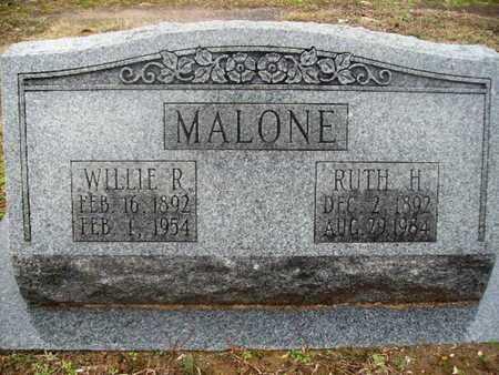 MALONE, WILLIE R - Webster County, Louisiana | WILLIE R MALONE - Louisiana Gravestone Photos