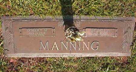 MANNING, ROBBIE D - Webster County, Louisiana | ROBBIE D MANNING - Louisiana Gravestone Photos