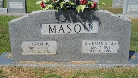 MASON, LAXTON R - Webster County, Louisiana   LAXTON R MASON - Louisiana Gravestone Photos