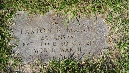 MASON, LAXTON R (VETERAN WWII) - Webster County, Louisiana | LAXTON R (VETERAN WWII) MASON - Louisiana Gravestone Photos
