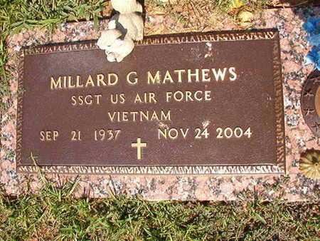 MATHEWS, MILLARD G (VETERAN VIETNAM) - Webster County, Louisiana | MILLARD G (VETERAN VIETNAM) MATHEWS - Louisiana Gravestone Photos